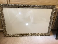 Large pewter custom frame and glass Toronto, M2J 1Z1