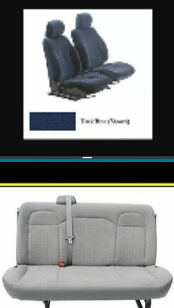 Used Van seats bench and captain for sale in Tallahassee - letgo