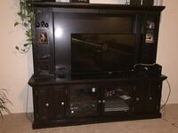 Entertainment Center with lots of storage.  1630 mi