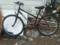 black and gray hardtail mountain bike Inverness, 34453