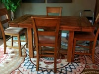 Wood Table and 4 chairs Ashley, 43003