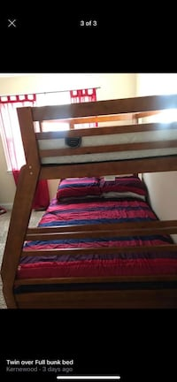 Twin over full bunk bed w/ two drawers Baltimore, 21212