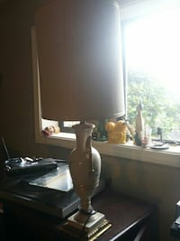 black and gray table lamp North Saanich, V8L 3Z5