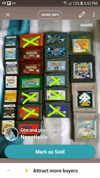 Game boy s.p games  Maple Ridge, V2X 8H4