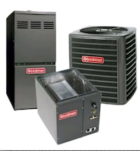 Furnace and AC system install service or sales  San Jose
