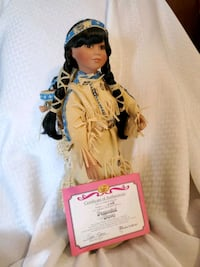 Porcelain Indian Doll Tennessee, 37013