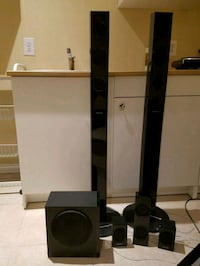 black and gray home theater system Springfield, 22150