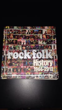 Livre Rock & Folk - History 1966-2012 Paris, 75010