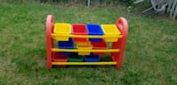 red, yellow, and blue plastic toy organizer Mississauga, L4T 3L6