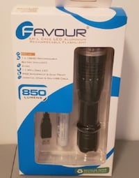 Cree 850 LED Rechargeable Flashlight Coquitlam