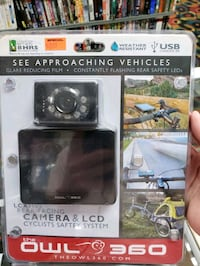 The Owl 360 LCX3600 Rear Facing Camera & LCD