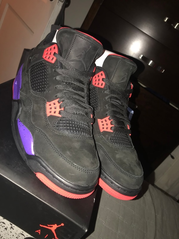 3a558e77b29 Used Air Jordan 4 Retro NRG  Raptors  for sale in Passaic - letgo