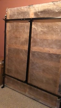 Metal bed frame and box spring  Coquitlam, V3E 3C9