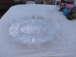 Glass Crystal Tray Collectable and Vintage, good condition