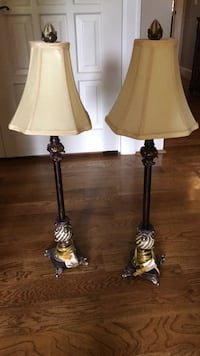 two black-and-white table lamps Lexington, 40510