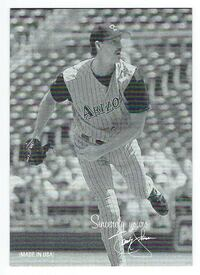 RANDY JOHNSON 2003 Donruss Checklist Legend SINCERELY YOURS #/46 Diamondbacks Las Vegas