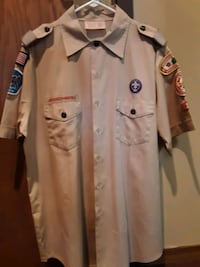 Boy Scout Leader Large with patches Hagerstown