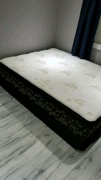 white and black floral mattress Surrey, V3V 3M5