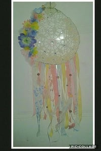 white and pink dream catcher house decor Rock Spring