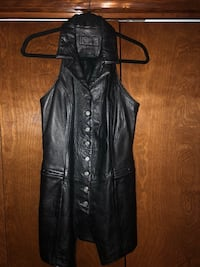 Leather pants and vest Dryden, 98815