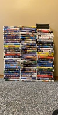 Lot of 80 Children's VHS Tapes Airdrie, T4B 1Z1