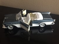 Antique and collectible toy metal, some plastic parts convertible car.