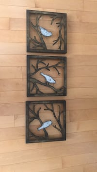 black and brown wooden wall decor Oakville, L6H 6T5