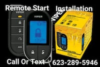 Car/Auto Alarm Remote Start Installation  Glendale