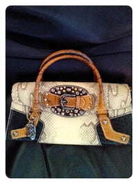 GUESS Ladies Snake Skin Style Bag with Tag 4804 mi