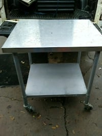 Stainless steel 4 by 4 food grade table Sugar Hill, 30518