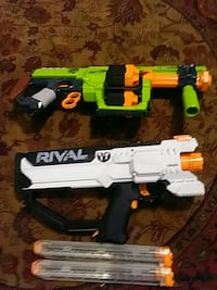 Nerf:Doominator and Rival negocible Middle Island, 11953