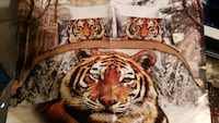 Brand New Queen Size Tiger Bedding Set for Sale  Red Deer, T4P 3Y9