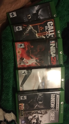 Xbox one games-$15 a game, $55 for all 4.-Negotiable