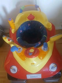 baby car excersaucer for sale. Gently used and neat.