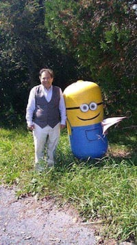 Minions yard statue Newville, 17241