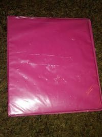 pink leather pad