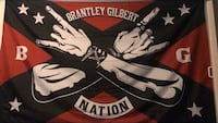 Autographed Brantley Gilbert flag  Frederick, 21703