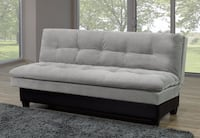 KLIK KLAK SOFA COUCH WITH PILLOW TOP SEATING AND BACKING FABRIC Toronto, M6N 3G1