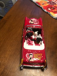 Danbury Mint Betty Boop Chevy Bellaire