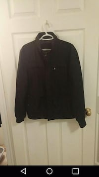 black full-zip jacket Welland, L3C 6Z8