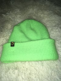 Neon green toque bought at big white  Kelowna, V1Z 1N9