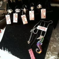 Betsey J Seahorse & Lovely Rings 14$ each Ladson, 29456