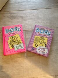 Dork Diary books! Great Condition and Hard Cover!  Spring, 77380