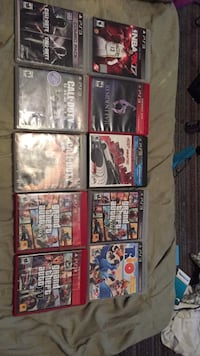 assorted Sony PS4 game cases Hagerstown, 21740