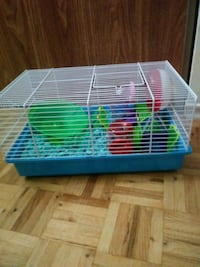 2 Hampster Cages +toys (Sold together or separate) Brampton, L6S 4J1