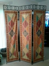 Iron room divider with tapestries  Westminster, 21158