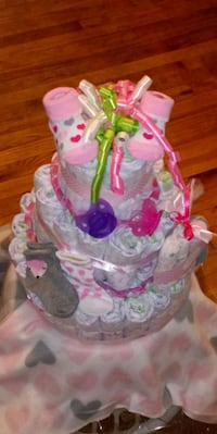 Baby shower gifts. Prices range from $50-$75