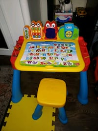 VTECH Activity Table & Stool Set