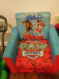 red and blue Disney Cars print armchair Elkhart, 46514