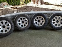 Used F-350 Platinum Mags and Tires Surrey